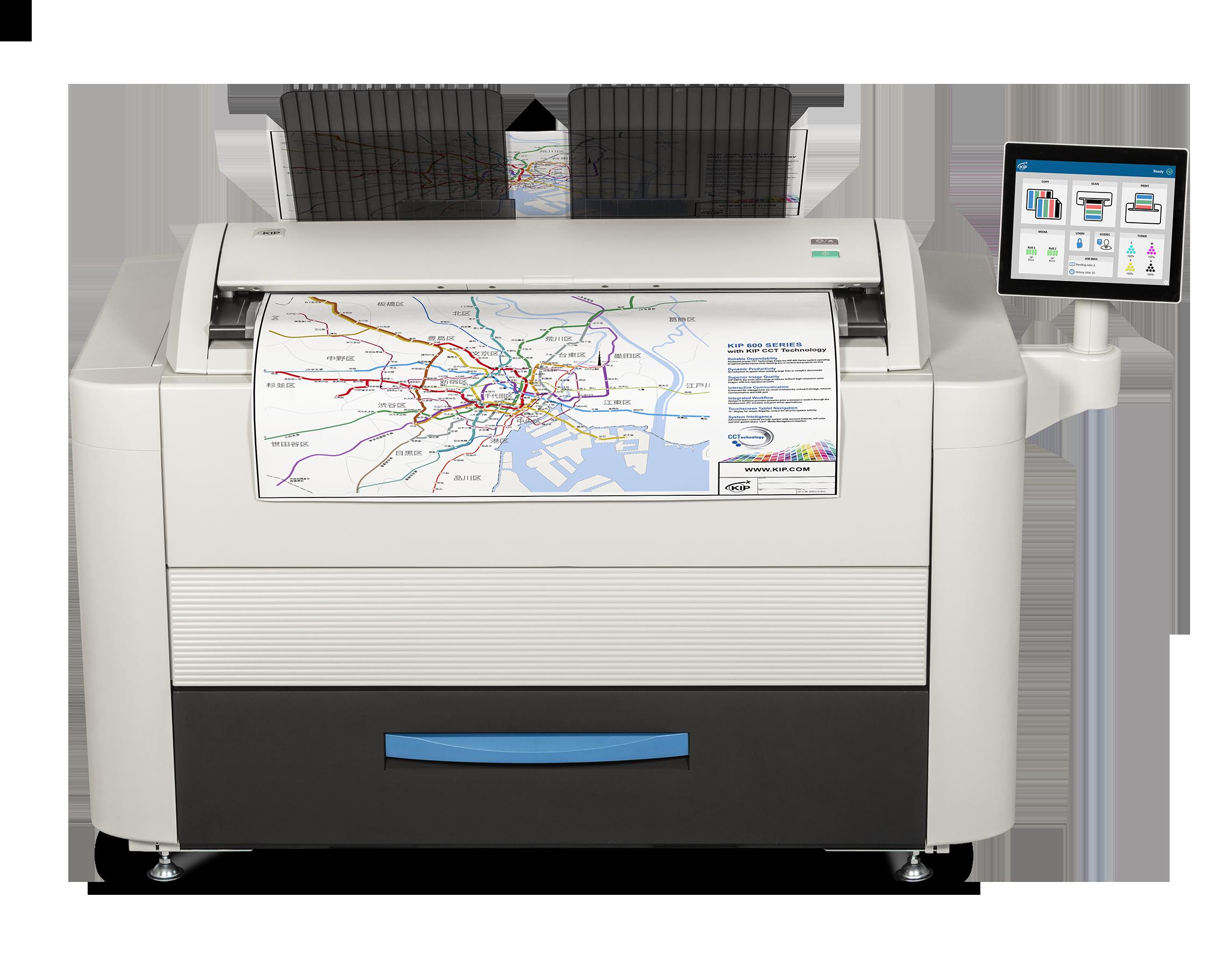 KIP grootformaat printer