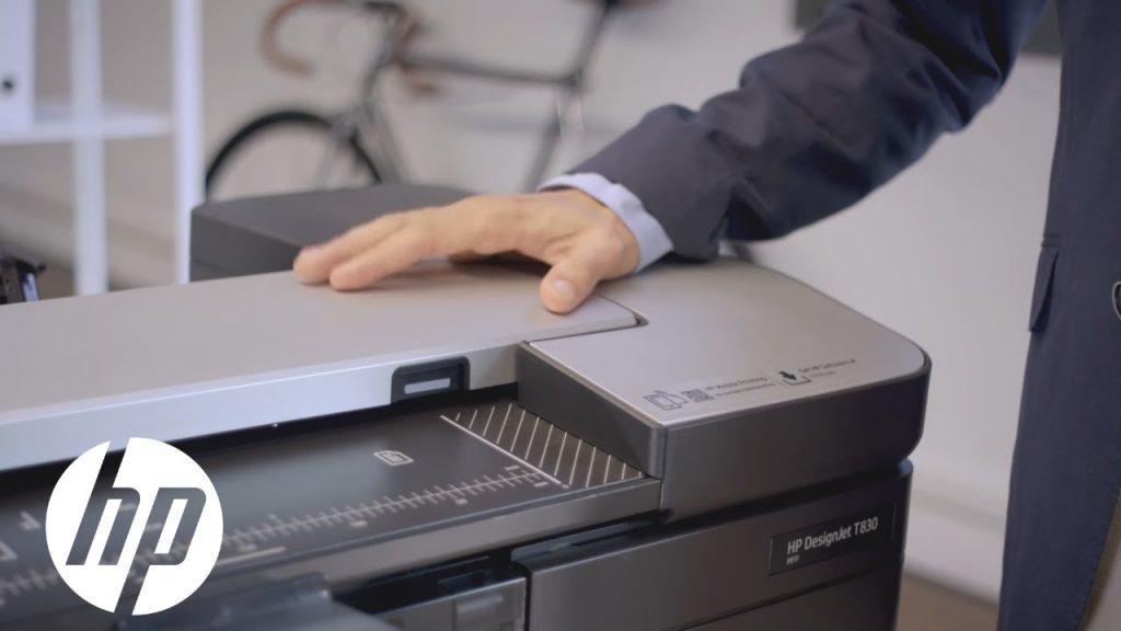 HP DesignJet T830 Serie